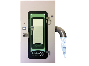 Containment shower, Albian Group