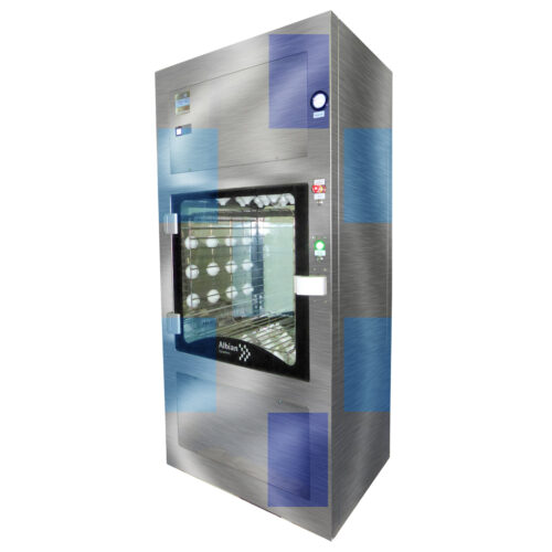 Albian Pass through box air shower