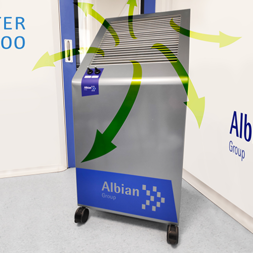 AIR PURIFYING EQUIPMENT Albian Group