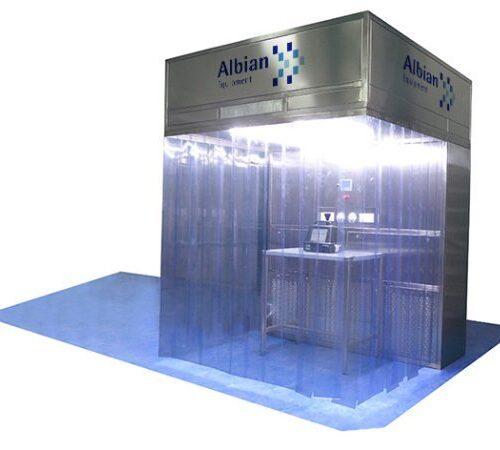 Cabina Flujo Laminar y cabinas de pesadas Albian Group