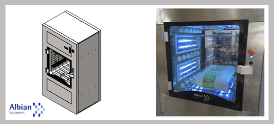 Pass Box Albian Equipment