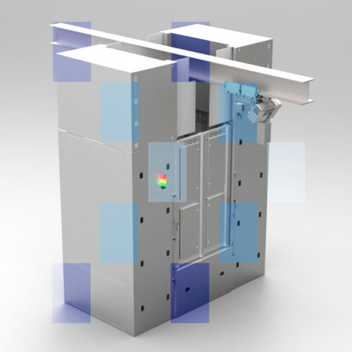 Albian Pass box lifted air shower & UV