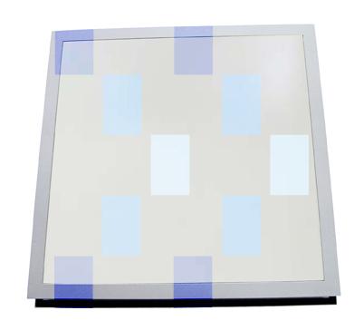 Luminaire de sol pour plafond practicable