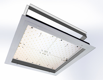 Luminaria LDPL 600 LED