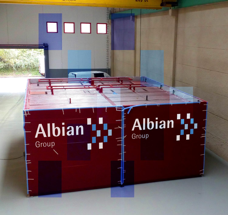 Laboratoires modulaires transportables MPL
