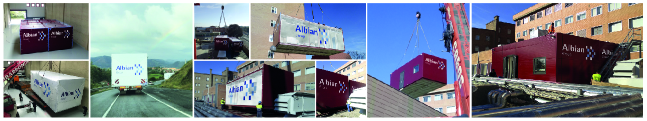 Laboratorio Modular Albian Group