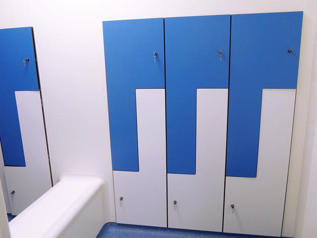 Clean room lockers