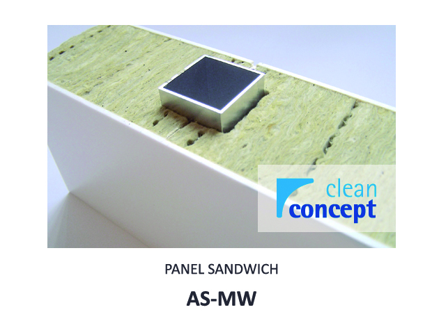 Panel Sándwich AS-MW Albian Group para Salas Limpias