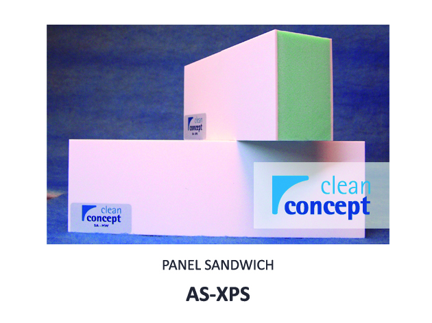 Panel Sándwich AS-XPS Albian Group para Salas Limpias