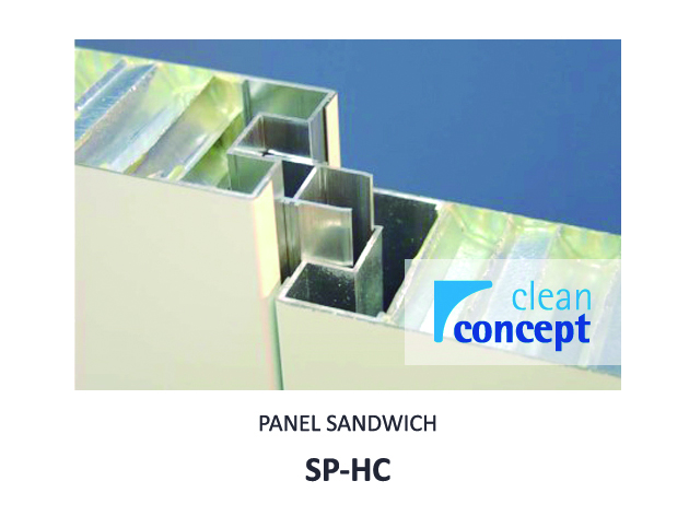 Panel Sandwich SP-HC Albian Group para Sala Limpia