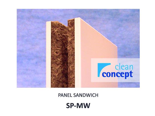 Panel Sandwich SP-MW Albian Group para Salas Limpias