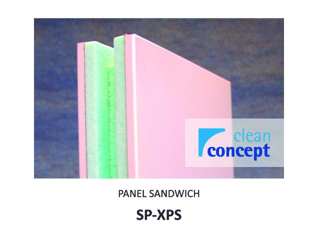 Panel Sandwich SP-XPS Albian Group para Salas Limpias