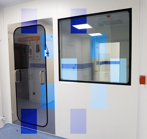 Albian Group emergency exit panel for clean rooms