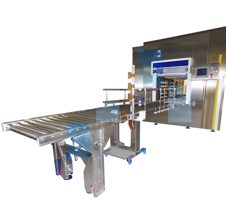 SAS TUNNEL AS UV, Sistema de transferencia de materiales mediante túnel en continuo