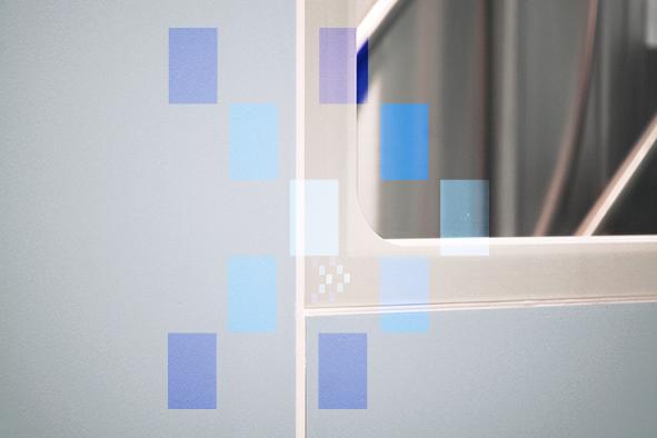 Fenêtre nivelée pour salle propre Albian Group