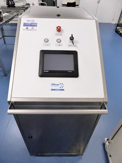 Equipo de desinfección BK 100 mediante H2O2 para Salas Limpias