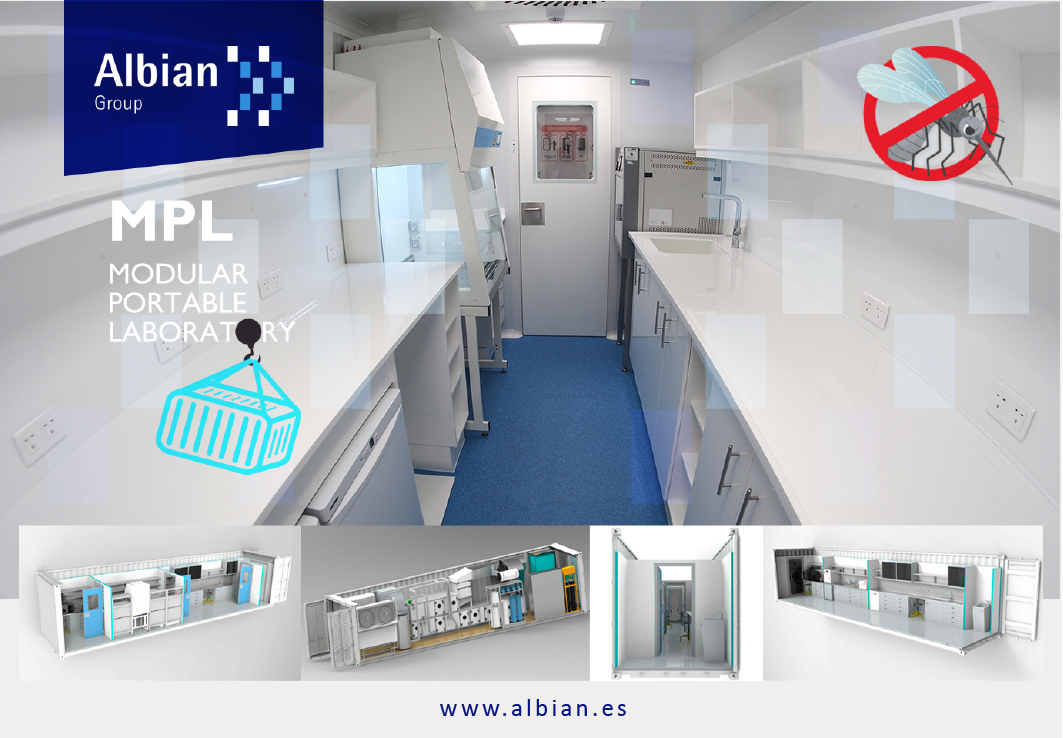 Modular portable Laboratory MPL Albian Group