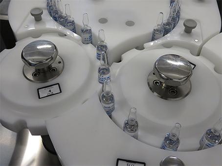Máquina automática para detección de fugas de ampollas y viales de vidrio. TC 04