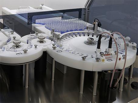 Máquina automática para detección de fugas de ampollas y viales de vidrio. TC 02